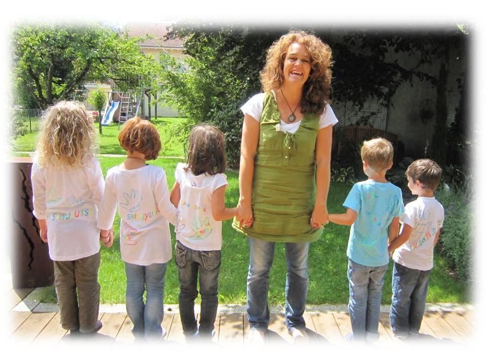 Kinder und Strömen - T-Shirt