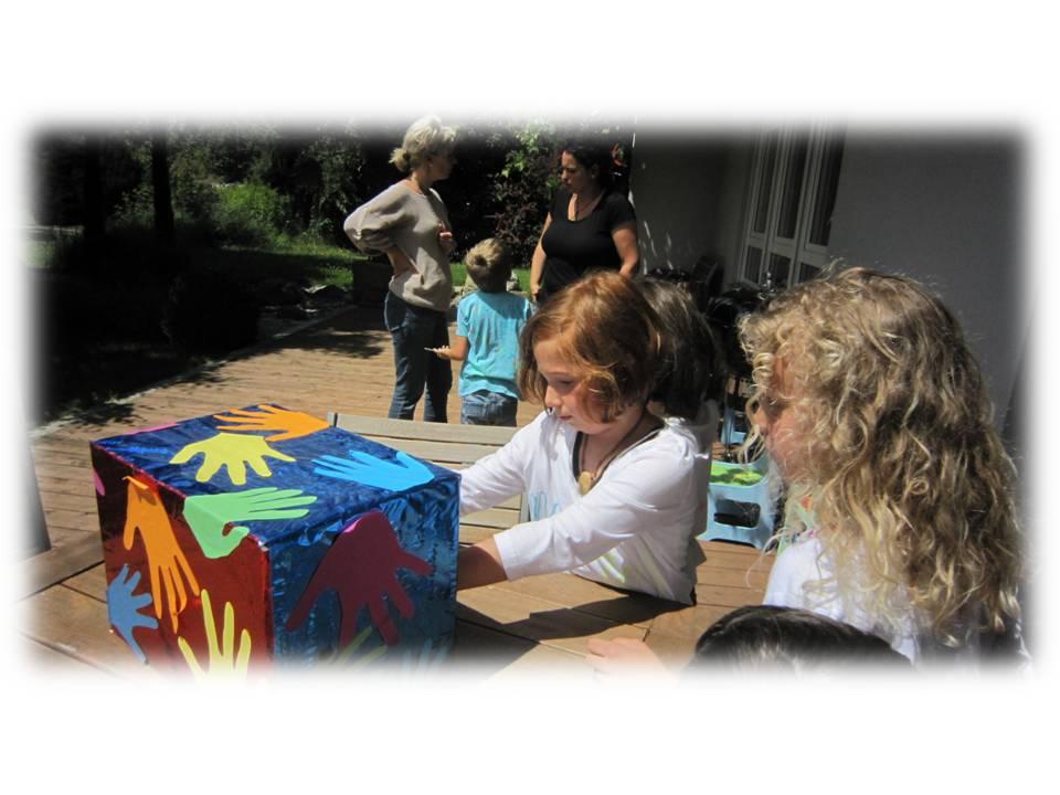Kinder und Strömen - Tastbox